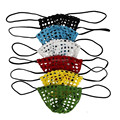 6PCS/Lot Erotic G-string For Man Brand Fishnet Hollow Out Sex Men Sexy Thong Breathable Popular Sexy Gay Underwear Free Shipping