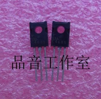 2018 hot sale 10PCS/30pcs japan brand new original 2SC4685 C4685 golden voice Audio electronics free shipping недорого