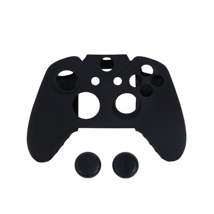 Black Soft Protector Silicone Skin Case Cover Pouch for Microsoft Xbox One Controller