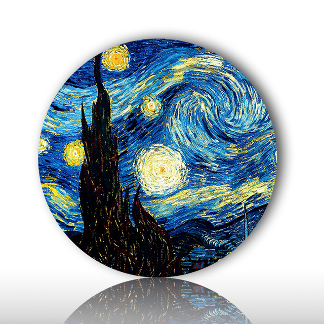 Holland famous painter Vincent Willem van Gogh painting wall hanging decorative plates impressionism style for home  sc 1 st  AliExpress.com & Holland famous painter Vincent Willem van Gogh painting wall hanging ...