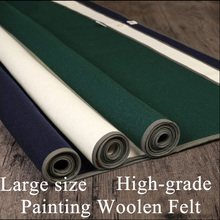 Top grade Woolen Chinese Calligraphy Large size Felt Painting mat Blankets For Calligrapher Artist Painting