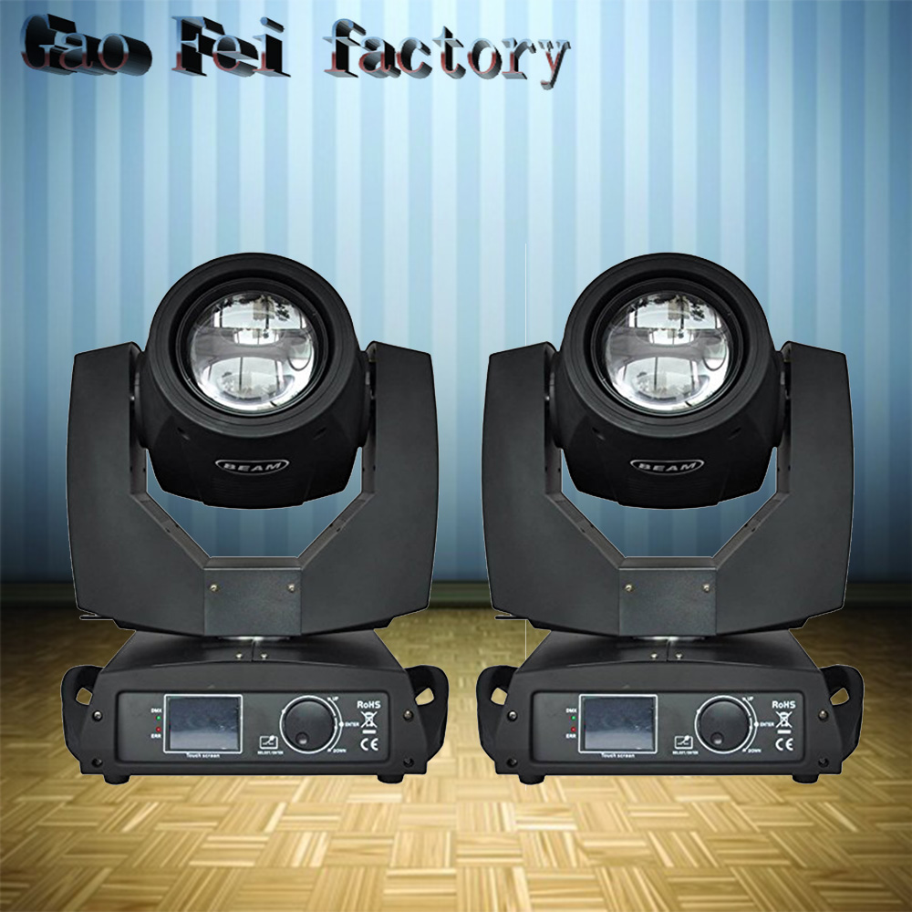 High Quality 2pcs/lot Beam 7r 230w Moving Head Dmx512 Dj Disco 230w Sharpy Beam Professional Stage Lighting For Club Party Show