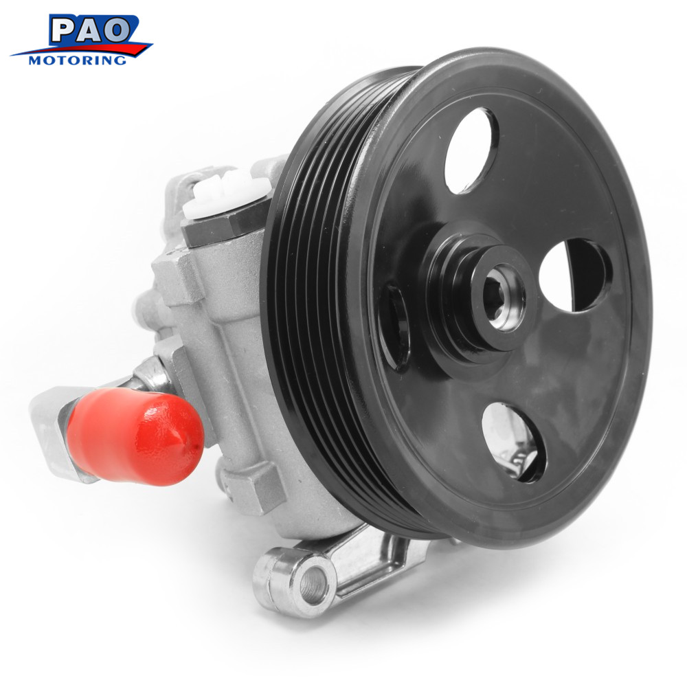 New Power Steering Pump Fit For Mercedes Benz ML320 ML430 ML350 ML 500 W163 ML 55 AMG OEM 0024668601, 0024668701, 0024664701 new alternator for mercedes benz cl63 65 amg oem al0864x 0121813002 0131549902