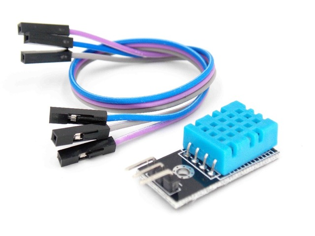 Hot 1x DHT11 DHT-11 Digital Temperature and Humidity Temperature sensor with Cable