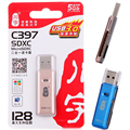 Высокое качество USB 3.0 супер-speed 5 Гб/c USB 3.0 адаптер-ридер для SD карты Micro SD т - SDHC Micro SDXC до 128 ГБ