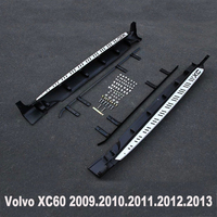 For Volvo XC60 2009 2013 Car Running Boards Auto Side Step Bar Pedals High Quality Brand New Nerf Bars
