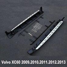 XC60 Marchepieds Auto Side Step Bar Pédales Pour Volvo XC60 2009.2010.2011.2012.2013.High Qualité Original Tout Neuf Modèles