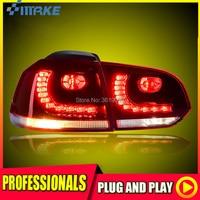 SmRKE For Volkswagen VW Golf 6 LED Tail Light Rear Lamp LED DRL Brake Park Signal