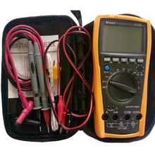 1pcs Vichy Vici VC99 3 6/7 Auto range digital multimeter with bag+Alligator Probe+Thermal Couple TK cable