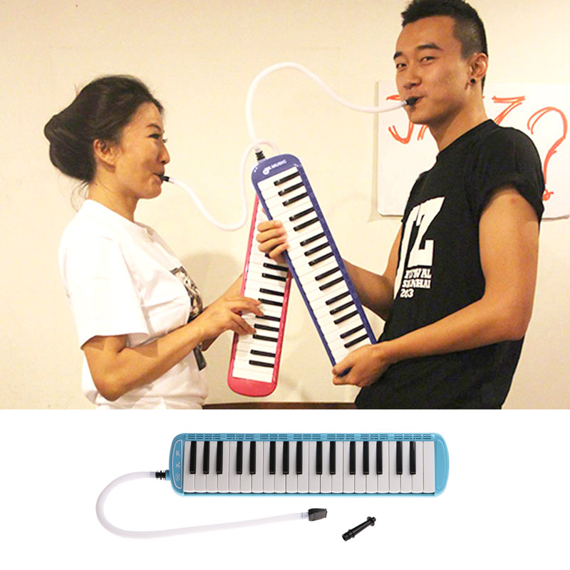 Plástico Boquilla de la Música Del Teclado de Piano de 37 Teclas Melódica Instru