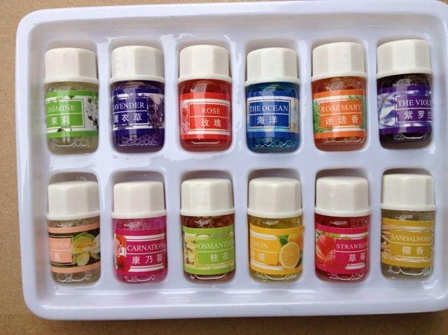 Эфирные масла Пакет для Ароматерапии Гидромассажная Ванна Массаж Уход За Кожей Масло Лаванды С 12 видов Аромат