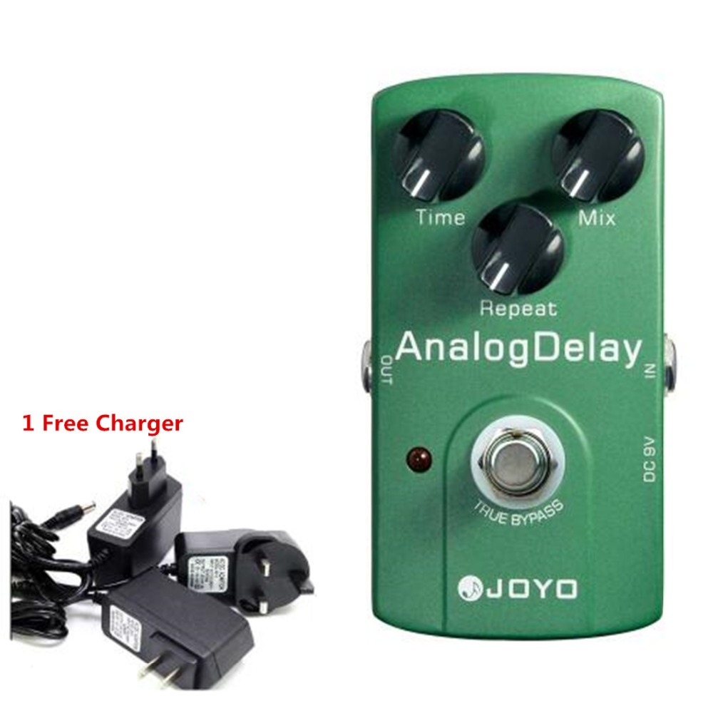 JOYO Analog Delay Guitar Effects Pedal Guitar Echo Delay Time Mix Repeat Adjustable Warm and Nature Tone True BypassJOYO Analog Delay Guitar Effects Pedal Guitar Echo Delay Time Mix Repeat Adjustable Warm and Nature Tone True Bypass