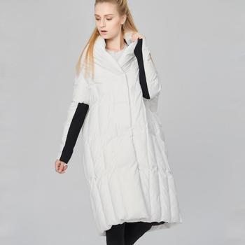 90% duck down coat 2019 new European fashion brand down jacket women's winter great quality luxury thicker warm down coat wj1299