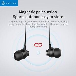 Image 2 - Haylou C10 الرقبة اللاسلكية طوق سماعات في الأذن بكلتا الأذنين ستيريو بلوتوث الرياضة سماعات مع ميكروفون