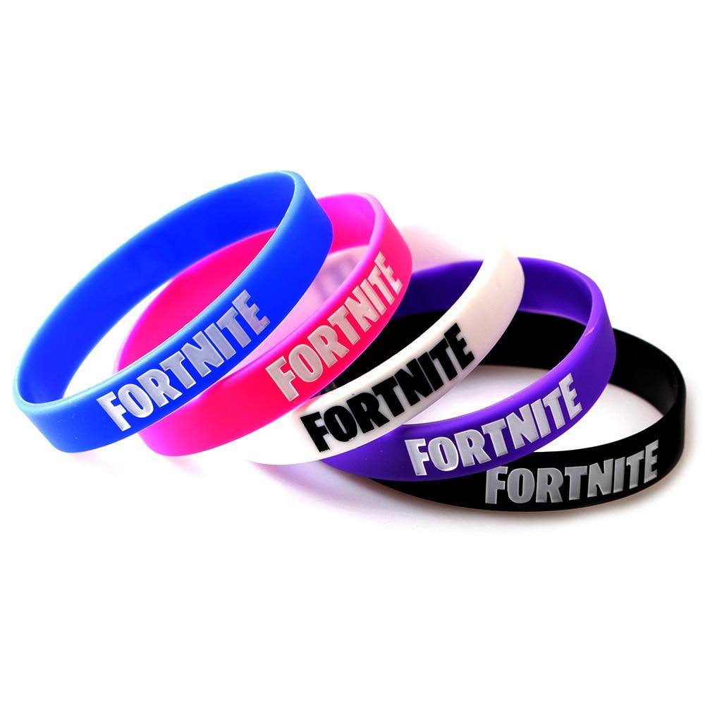 Game PS4 Fortnite Resin Bracelets Bangles for Men Jewelry Fortnite Battle Royale Bracelet Women Braclet Male Dropshipping