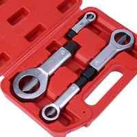 Profesional ajustable tuerca Splitter Cracker 9-27mm removedor de tuercas dañadas removedor divisor tuerca de óxido Manual herramientas para extracción