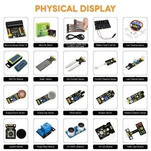 Image 4 - Keyestudio 37 in 1 Sensor  Starter Kit With Micro:Bit Board for BBC MicroBit DIY Projects (Including Micro:Bit Board  )