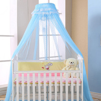 Baby Crib Netting Canopy Bed Netting Bed Canopy Round Dome Netting Breathable Insect Mosquito Net for Baby Crib