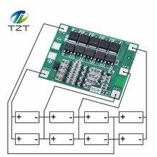 4S 40A litowo jonowy akumulator litowy 18650 ładowarka PCB tablica ochronna BMS z balansem na silnik do wiertarki 14.8V 16.8V moduł Lipo Cell