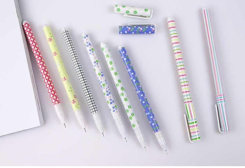 10 penna di colore con la scatola Giapponese e Coreano cancelleria creativa, rotto fiore, penna acquerello, colore della penna neutro