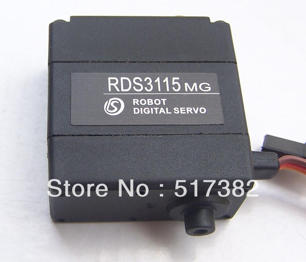 Free shipping 17pcs Original servo RDS3115 no brackets Metal gear Digital servo For 17DOF humanoid Robbot