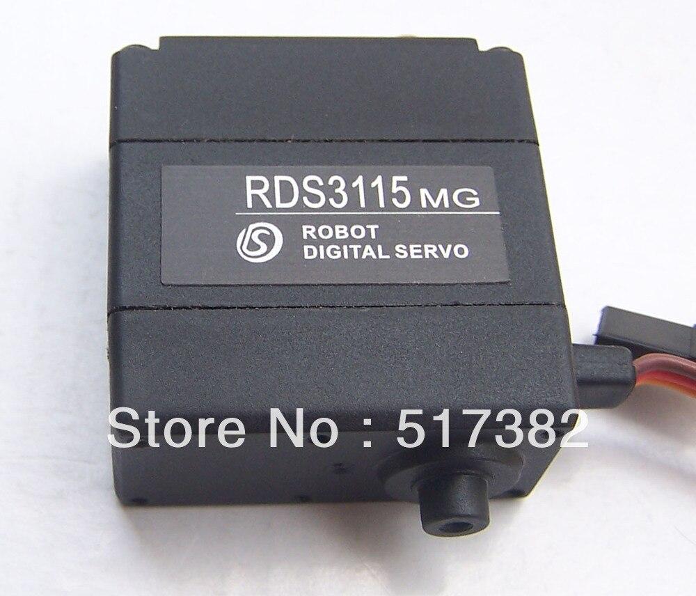 送料無料 17 個オリジナルサーボ RDS3115 (無ブラケット) 金属ギアデジタルサーボ 17DOF ためヒューマノイドロボットフレーム  グループ上の おもちゃ & ホビー からの パーツ & アクセサリー の中 1