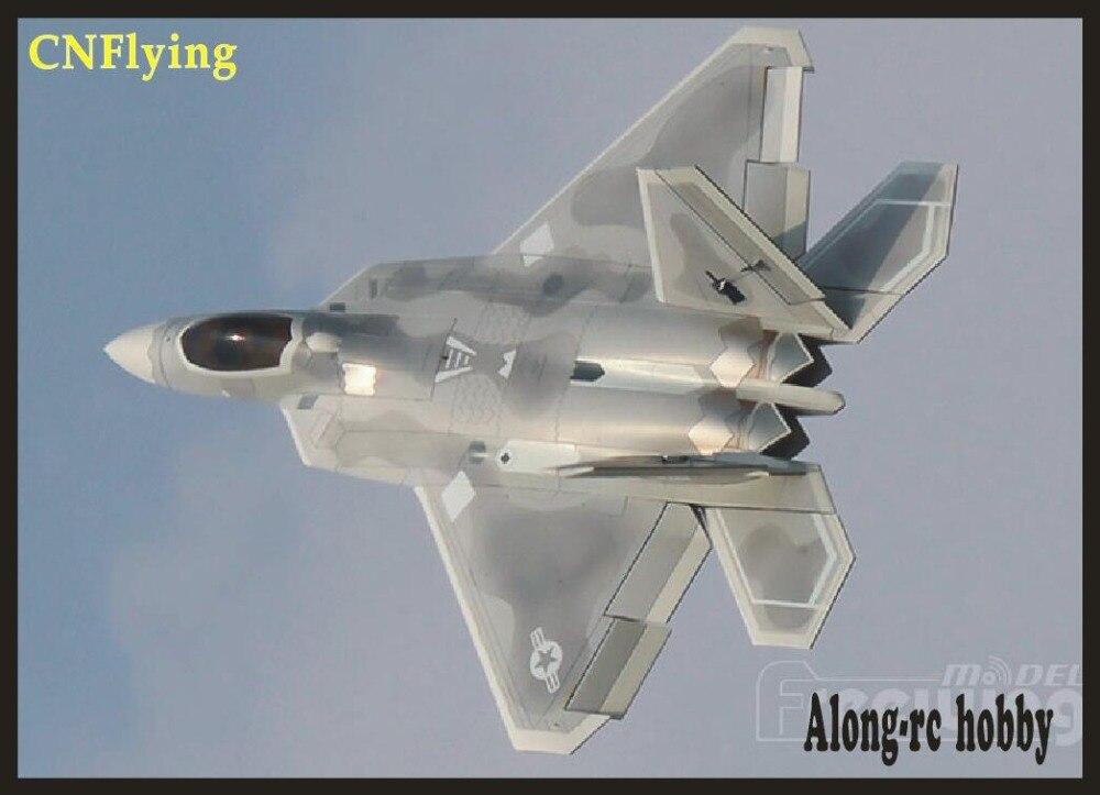 Freewing NUOVO rc Elettrico jet F-22 Raptor aereo 90mm edf aereo 6 s o 8 s PNP o kit a scomparsa aereo/RC MODELLO HOBBY,