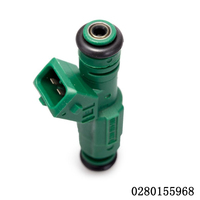 1PCS High Quality High Flow 440CC Green Giant EV6 Fuel Injector 0280155968 9202100 For Audi A4