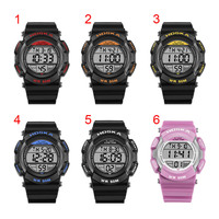Fashion New Children Boys Girls Students Watch LED Electronic Digital Watches 50M Waterproof Sports Wristwatch 17