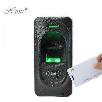 RS485 Fingerprint Reader For Access Control System Inbio460 Access Control Panel ZK FR1200 Fingerprint And RFID Card Reader - DISCOUNT ITEM  5% OFF All Category