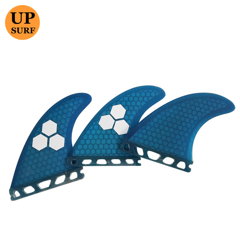 Surf Future Fins Blue Honeycomb Fin M Өлшемі Surfboard Fin - Су спорт түрлері - фото 4