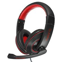 KINBAS 3.5mm Stereo Gaming Headphone Headset Headphone with Mic Microphone for PC Laptop Skype(China)