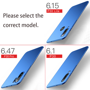 Für Huawei P30 Lite Fall Abdeckung Business Ultra Dünne Harte PC Zurück Abdeckung Für Huawei P30 P40 Pro Lite P30Lite fällen Telefon Coque Capa
