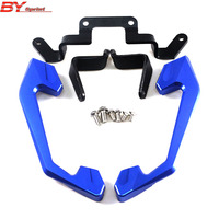 Motorcycle CNC Accessories Rear Armrest Rear Seat Passenger Handle Grab Bars For Yamaha R3 r3 R25 R 25 2015 2016 5 colors