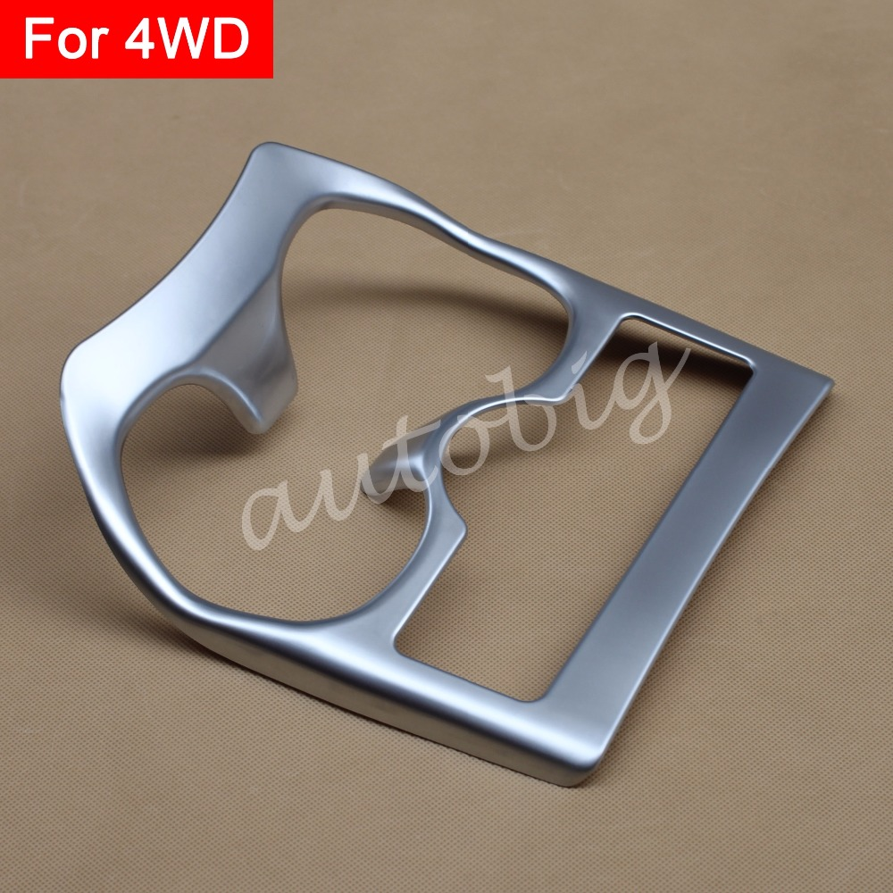 Buy Matte Chrome Interior Water Cup Holder Trim Cover Styling FOR Nissan X-Trail Rogue Sport T32 4WD Molding Accessories Parts for $15.93 in AliExpress store