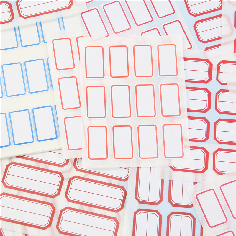 Non-drying Label Paper Self-adhesive Stickers Small Labels Commodity Price Tag Office School And Home Supplies