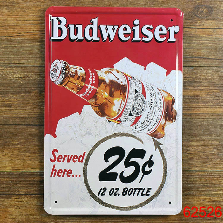 Beer Wall Decor online get cheap metal beer vintage poster -aliexpress
