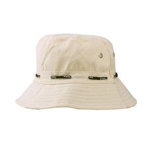 1PC seau chapeau pour hommes femmes Hip Hop pêcheur chapeau adulte Panama Bob chapeau printemps été amoureux plat chapeau pliable