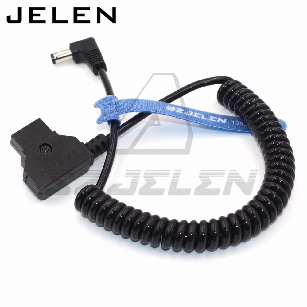 D-кран под прямым углом DC 5,5x2,5 мм кабель для Blackmagic видео Assist 4 K кабель питания для монитора