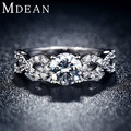 wedding Rings for women white gold filled jewelry luxury vintage bague for lady zirconia Accessories bijouterie MSR099