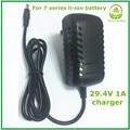29.4V1A lithium Li-ion/Li-polímero carregador de bateria para 24 V carregador de bateria de lítio de 7 séries de boa qualidade