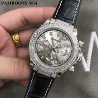 Diamond Watches Top Brand Luxury Business Belt Mechanical Automatic Watch Men Clock Wrist Watch For Men Relogio Masculino 2018