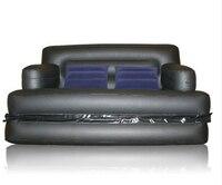 multifunctional inflatable sofa leather folding sofa bed
