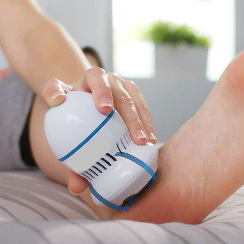 Clean-Tools Feet-Care Foot-Files Pedi Cracked Skin Vac-Remover Perfect For Hard Electronic