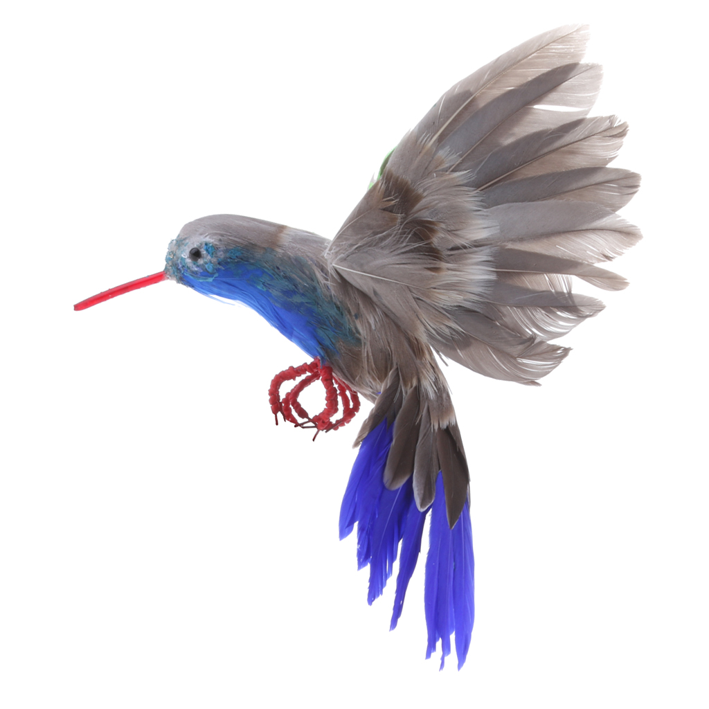Decorative Fake Artificial Birds Craft Spread Wings Bird For Home Garden Ornaments Decoration