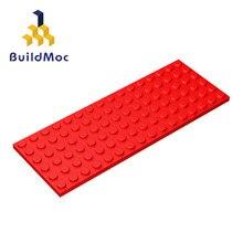 Construcdmoc Compatible assemble particules 3027 6x16 pour blocs de construction pièces bricolage histoire éducatif créatif cadeau jouets