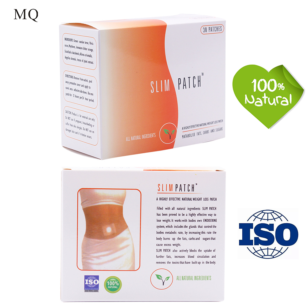 MQ 30bags/box Weight Lose Paste Navel Slim Patch Health Slimming Patch Slimming Diet Products Detox Adhesive For Fat People