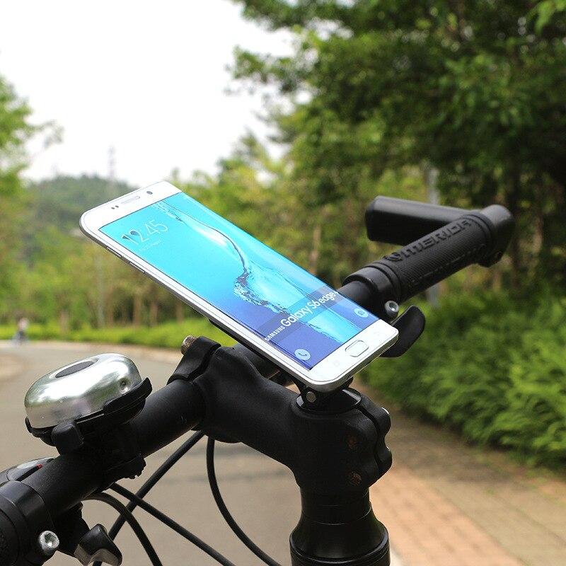 imágenes para Para todos los Teléfonos Inteligentes Teléfono Móvil de Montaje Soportes de Bicicletas Mountain Bike Ride Titular Clip Del Manillar Ciclismo GPS Soporte de Apoyo