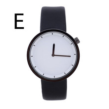Mens watches top brand luxury Men's Round Dial Leather Band Casual Quartz Watch relogio masculino
