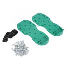Садовая садовая газонная аэраторная обувь лугопастбищные аэрационные грунтовые сандалии с шипами
